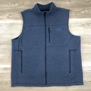 The North Face Fleece Vest with chest pocket XL